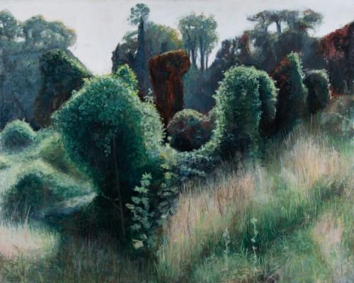 Landschaft; 100 x 80 cm